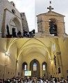 Church at Calvisson at 14 June 2015 with lots of catholic beelievers - panoramio.jpg