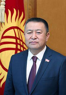 Chynybaĭ Tursunbekov Kyrgyz politician
