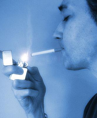 Smoking in Germany - Cigarette smoker
