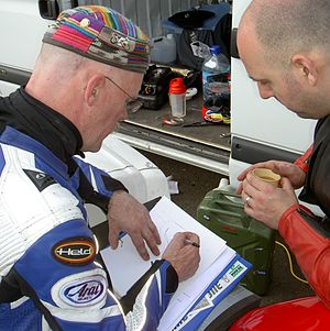 Mike Edwards (motorcycle racer) - Image: Circuit draw