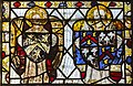 Cirencester, St John the Baptist church, medieval stained glass (45333056181).jpg