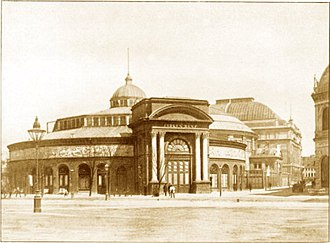 Circus Building, Copenhagen - The Cirkus Building in 1886