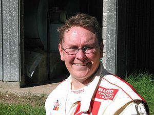 Thomas Rådström - Image: Citroën WRT testing in Finland in 2002 21