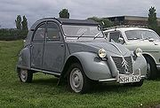 "First generation ""Ripple Bonnet"" Citroën 2CV built from 1949 to 1960"