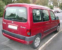 Citroen Berlingo rear 20070928.jpg