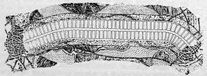 Proyecto de Ciudad Lineal de Arturo Soria. Su ambicioso planteamiento no llegó a completarse en todos sus extremos, y su integración con la naturaleza quedó definitivamente desvirtuada con la urbanización de todos los espacios intermedios, tanto hacia el centro urbano como hacia el exterior. También se amplió la edificabilidad en la mayor parte de las parcelas, aunque algunas siguen teniendo el mismo aspecto que a principios de siglo. También es uno de los pocos bulevares que se han conservado.