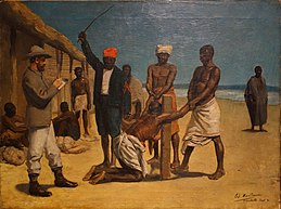 Civilization in Congo by Edouard Manduau, 1884 - Royal Museum for Central Africa - DSC06687.JPG