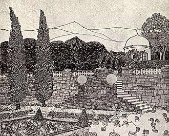 Ester Claesson - Image: Claesson teckning 1912
