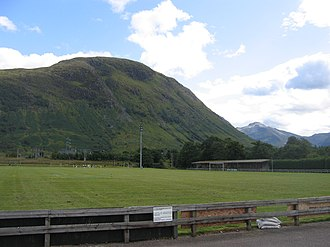 Fort William F.C. - Fort William F.C. play at Claggan Park in the foothills of Ben Nevis.
