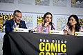 Clark Gregg, Chloe Bennet & Ming-Na Wen (48379162427).jpg