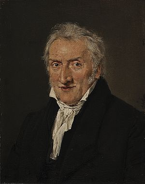 Cladius Detlev Fritzsch - Cladius Detlev Fritzsch painted in his old age, around 1835, by Christian Albrecht Jensen. Thorvaldsens Museum