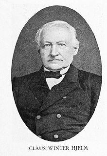 Claus Winter Hjelm Norwegian judge