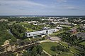 Clinton Presidential Center, Airport, and School of Public Service, aerial.jpg