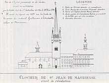 Clocher de l'église Notre-Dame