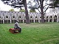 Cloisters, Salisbury Cathedral. - panoramio.jpg