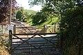 Closed gates - geograph.org.uk - 1334302.jpg