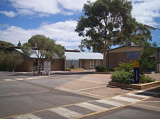 Clovelly Park, South Australia - Clovelly Park Primary School, originally known as Mitchell Park Primary School. It was renamed in 1995 following the closure of Tonsley Park Primary School.