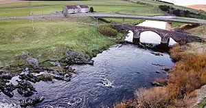 Abington, South Lanarkshire - Image: Clyde Bridges near Abington