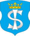 Coat of Arms of Ščučyn, Belarus.png
