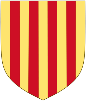 Ramon Berenguer III, Count of Provence - Coat of arms of the county of Provence (which is the same as of Barcelona)