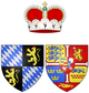 Coat of arms of Princess Wilhelmine Ernestine of Denmark as Electress Palatine.png