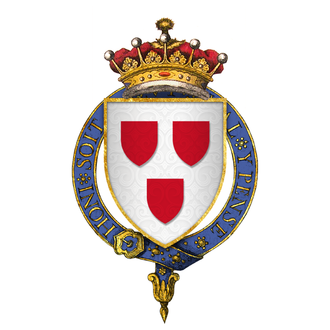 James Hay, 1st Earl of Carlisle - Coat of arms of Sir James Hay, 1st Earl of Carlisle, KG