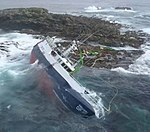 Wreck of the MV Coelleira
