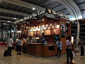 The Coffee Bean & Tea Leaf - Image: Coffee bean tea leaf Mumbai airport
