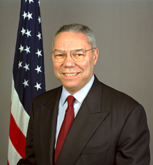 Portrait officiel de Colin L. Powell.