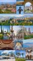 Collage de la ciudad de Málaga, Andalucía (España).png