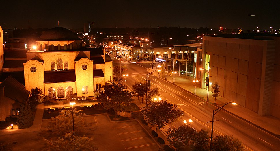 Columbus-ohio-high-street-night