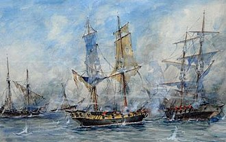 Juan Bautista Azopardo - Battle of San Nicolás.