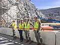 Command Sgt. Maj. Federico Boyce tours Folsom Dam spillway project for the first time (16847656982).jpg