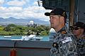 Commodore Peter Leavy of the Royal Australian navy, commander of Combined Task Force 176 140708-N-HU377-009.jpg
