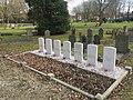 Commonwealth war graves - The Netherlands - Middelharnis Protestant cemetery.jpg