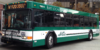 An image of an AC Transit bus taken at the San Francisco Temporary Transbay Terminal in mid November 2013. The bus is the commuter-styled Gillig Low Floor Advantage bus with Wi-Fi, and was operating on the NL Transbay line.