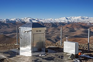 MASCARA - The compact housing of MASCARA at La Silla Observatory