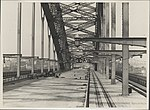 Completed deck of Harbour Bridge, 1932 (8283776220).jpg