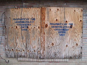 North Memphis, Memphis, Tennessee - Image: Confiscated house Klondike Memphis TN 2013 12 012