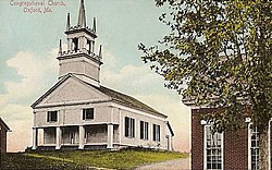 Congregational Church, c. 1909