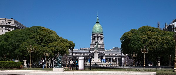 Palace of the Argentine National Congress, Buenos Aires, Argentina
