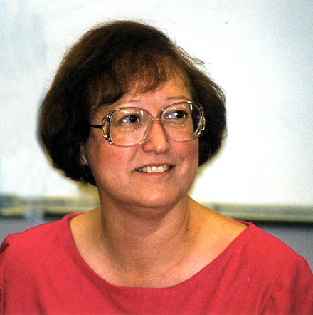 Connie Willis at Clarion West, 1998 ConnieWillisCW98 wb.jpg