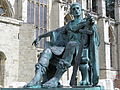 Constantine the Great Statue in York, commissioned in 1998 and sculptured by Philip Jackson, Eboracum, York, England (7643906080).jpg