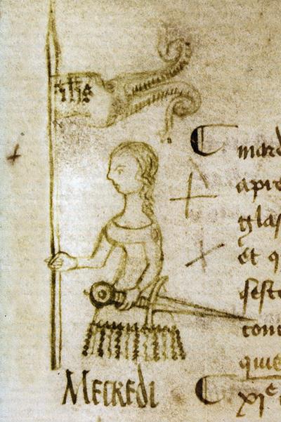 Le seul pourtrait de Jeanne d'Arc fait duraunt qu'alle éteit cor vivaunte à nous aveir aveints.