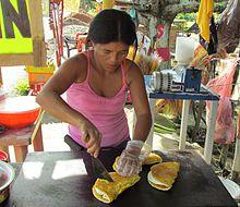 Venezuelan Fresh Corn Cakes With Cheese