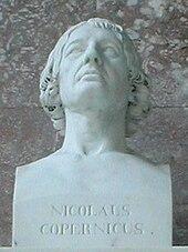 Nicolaus Copernicus, Büste (1807) von Schadow in der Walhalla (Quelle: Wikimedia)