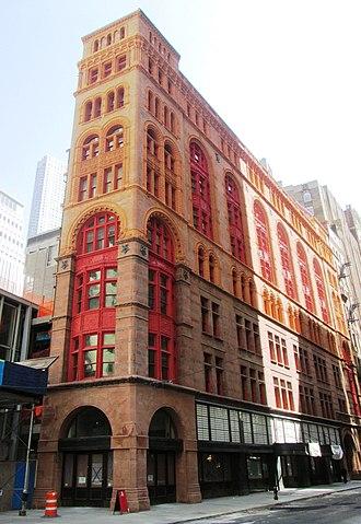 Corbin Building - Image: Corbin Building 13 John Street