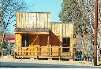 Cornville, Arizona - 1909 Cornville Post Office