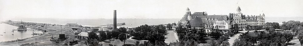 Hotel Del Coronado in Coronado, California, 1908