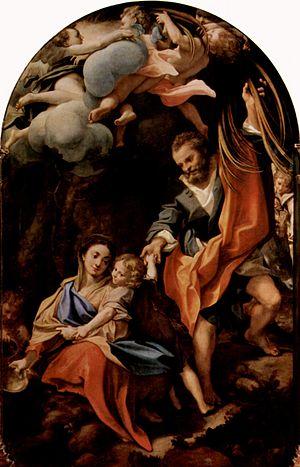 Madonna della Scodella - Image: Correggio 041